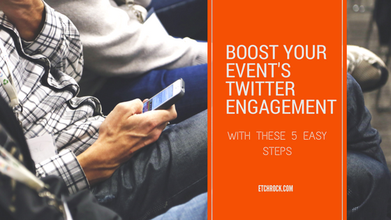 Boost your event's twitterengagement