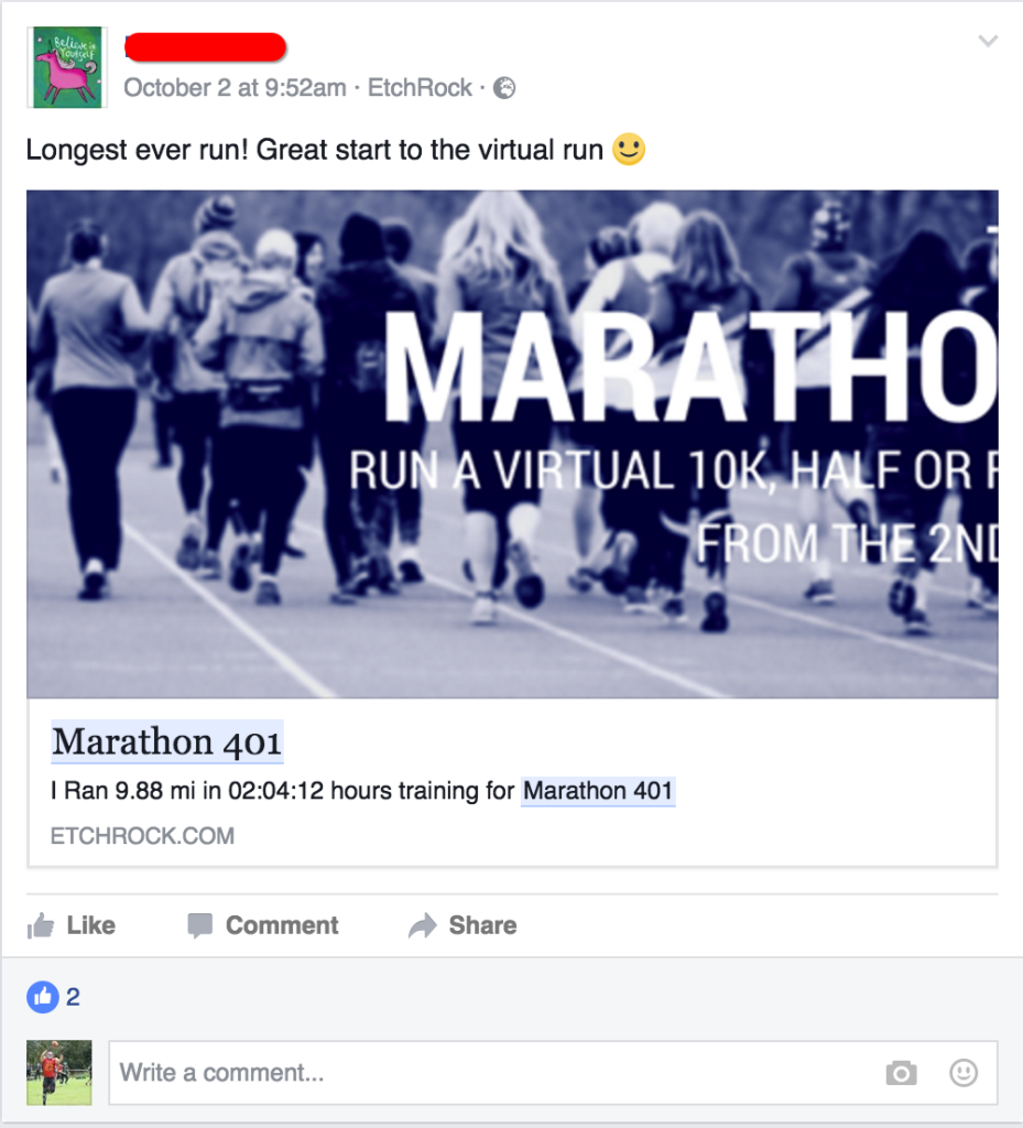 401 marathon case study
