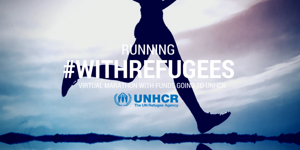 The Running For Refugees Challenge supporting UNHCR on EtchRock