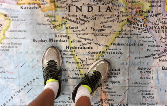Walking India - The Road to Independence